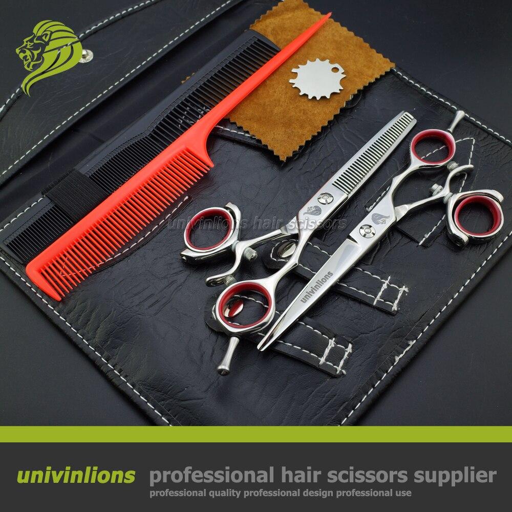 5.5 professional hair scissors 360 rotating thumb shears hair scisors swivel scissors ciseaux coiffure scissor barber haircut<br>