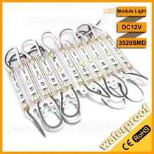 light module IP65 3leds 3528smd DC 12V  high bright led modules 3528, hot high power led module