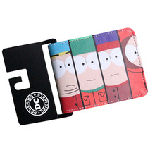 New Arrival Cartoon South Park Five Night At Freddys Anime Wallets Mens Wallets Woman Purse Short Leather Coins Pockets Card Bag(China)