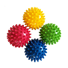 Stinges Massage Acupoints Massage Ball Trigger Point Sport Fitness Hand Foot Pain Relief Yoga Ball Fitness Ball Hedgehogs(China)