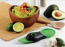Avocado Cut  Device Shea Butter Knife Pulp Separator Three-in Fruit Knife Plane Tools Safely Creative Kitchen Gadge