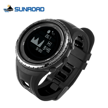 SUNROAD Smart Fishing Watches Digital Thermometer Pedometer Blacklight Tide and Moon Phase Outdoor Sports Camping WristWatch Men(China)
