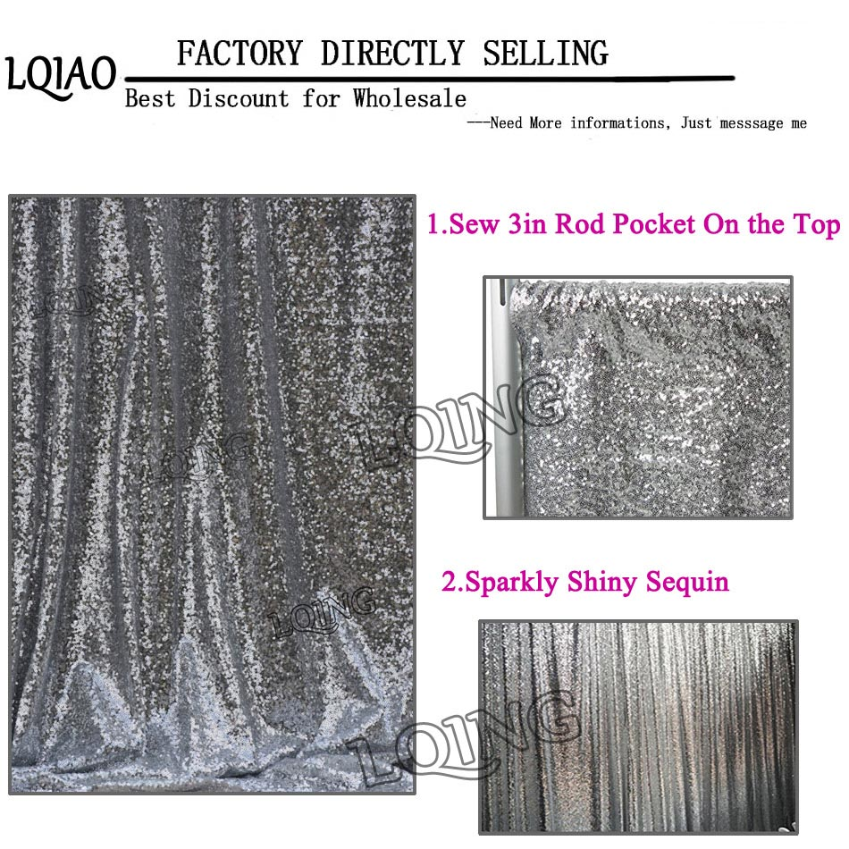 Silver Sequin Backdrop (15)