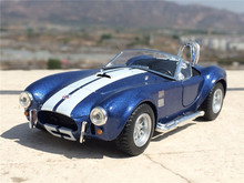 KiN SMART 1:32 1965 Shelby Cobra 427 S/C boutique alloy car toys for children kids toys Model original box freeshipping
