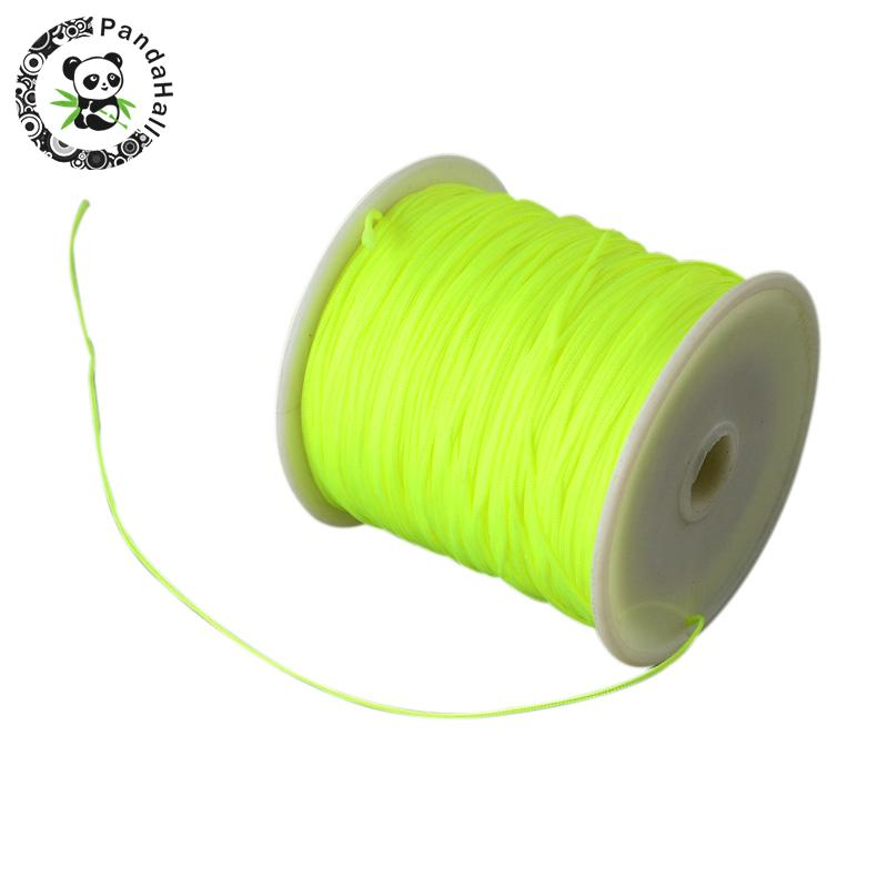 0.8mm 90m/roll Nylon Thread Cord For Bracelets Beading Necklace Jewelry DIY Accessories Making 8