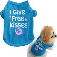 Hot Product Pet Puppy Summer Cotton Shirt Small Dog Cat Pet Clothes Vest Vetement Chien Pet Cat Dog Clothes Summer(China)