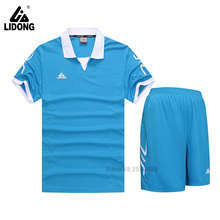 good quality kids football training jerseys soccer jerseys 2016 2017 breathable soccer uniforms sets 5 colors available hot sale(China)