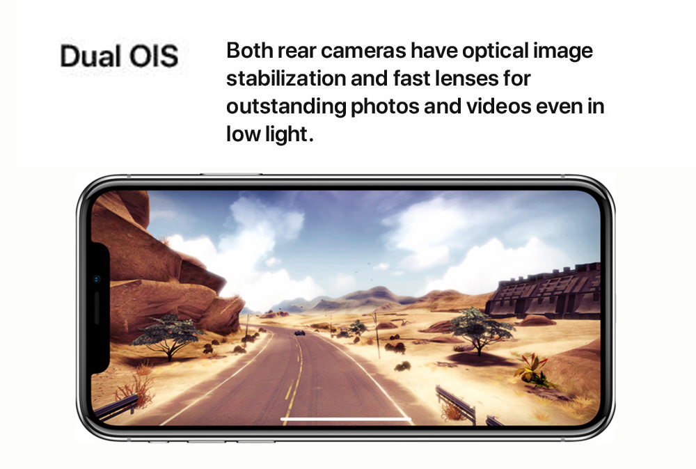 New Original Apple iphone X 64GB/256GB ROM 3GB RAM Face ID 12MP 5.8 inch 2716mAh Hexa Core iOS 4G LTE Smart Unlock Mobile Phone