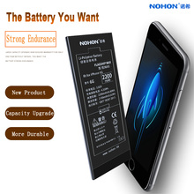 Original NOHON Battery For iPhone 6 6G Replacement Phone Batteries 2200mAh Max High Capacity Lithium Polymer Bateria Free Tools(China)