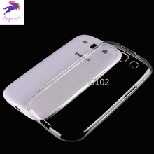 Fashion Mobile Phone Case For Samsung S3 I9300 Ultra-thin Transparent Soft TPU Case For Samsung Galaxy S 3 I 9300 Phone Cover