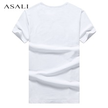 High Quality Cotton T-Shirt Men Brand T Shirts Men O Neck Mens T Shirts Simple Plain Colors Tee TopsT Shirt#MDXZ-6816