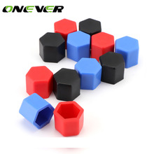 20pcs Car Wheel Hub Screw Cover Silicone Hexagonal Wheel Nuts Bolts Dust Cap car stiker Protection For all cars(China)