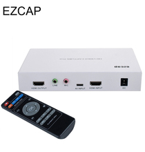 EZCAP 291 Pro 1080P HD Video Game Capture HDMI/YPpbr/CVBS Recorder with Playback Function For XBOX PS3 PS4 TV STB Medical(China)
