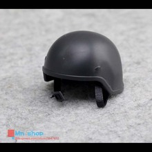 "1:6 Scale SWAT Helmet FBI PASGT Black Helmet  For 12"" Military Action Figure Accessories Gift Collection"