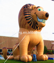 Free shipping 7.5m high outdoor giant inflatable lion cartoon character