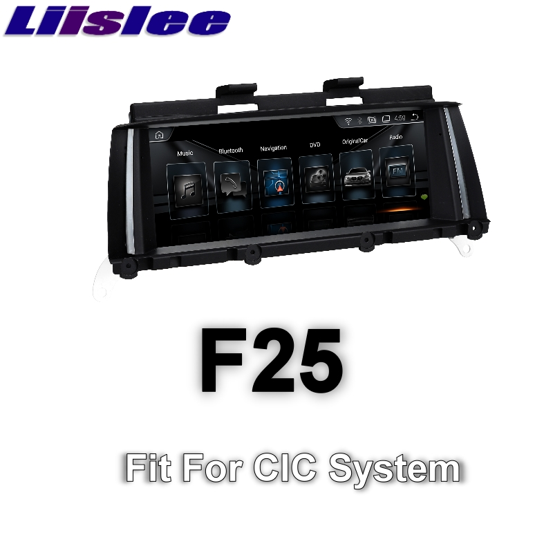 For BMW X3 F25 2011~2013 LiisLee Car Multimedia GPS Audio Hi-Fi Radio Stereo Original Style For CIC Navigation NAVI 1