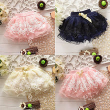 Cute Baby Girls Kid Child Toddler Floral Tutu Pettiskirt Mini Skirt  Short 1-5Y