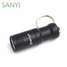 XML T6 LED flashlight Super Mini torch light keychain flashlight use 16340/CR123 edc led light for cycling climbing camp