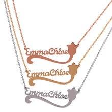 Cursive Name Necklace Promotion Shop For Promotional Cursive Name