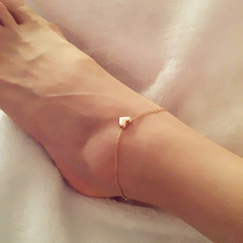 New Fashion Foot jewelry heart anklets nice gift  for women girl AN20