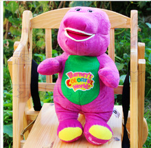 30cm Hot sale New High-quality Barney benny plush toys purple dinosaur Plush toys for birthday gift 1pc