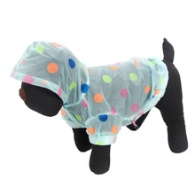 Pet Raincoat Sunscreen Clothes Puppy Teddy Dog Cat Clothes Pet Hoodies Sunproof Material Coat Sun Protection Clothing XS-L(China)