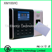 New arrived XM100 fingerprint recognition TCP/IP fingerprint and IC card time attendance time clock optional printer support(Hong Kong,China)