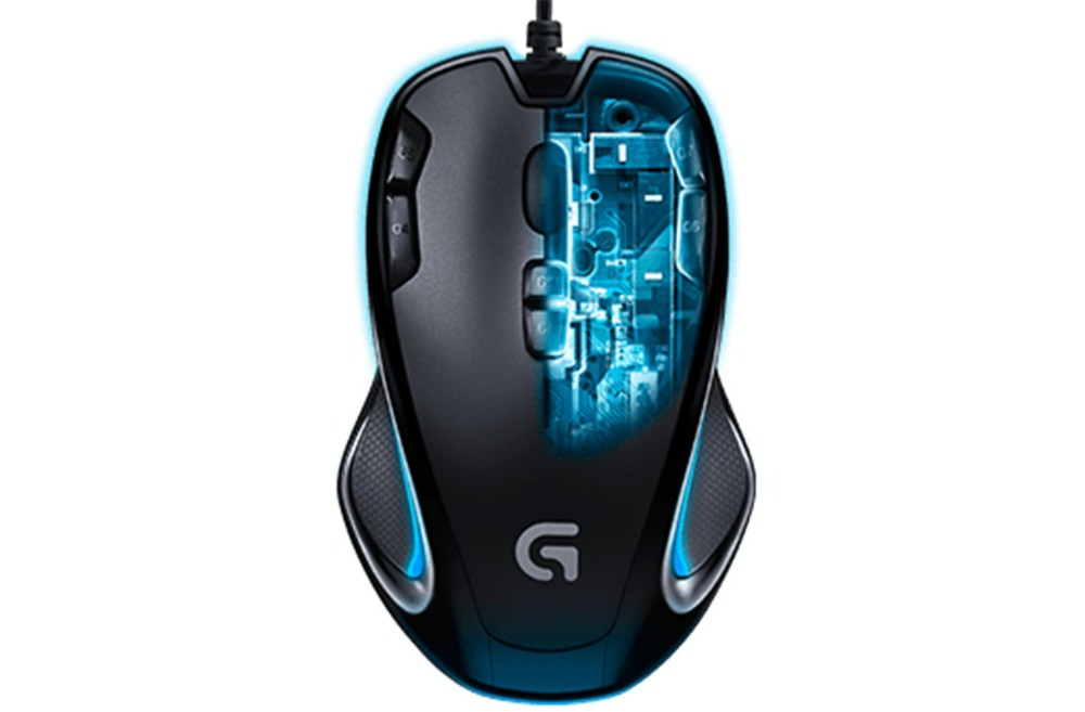 Logitech G300s Gaming Mouse Corded 910-004346 Corded for both left- and righthand