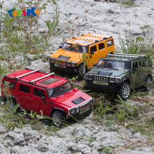 1:12 Hummer Remote Control Off-Road Vehicle Model Electric Toys High Strength Headlights, Fog Lamps