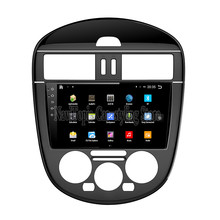 NaviTopia Brand New 9inch Quad Core Android 6.0 Car PC For Nissan Tiida (2011-2015) Car Audio Player With GPS Navigation(China)
