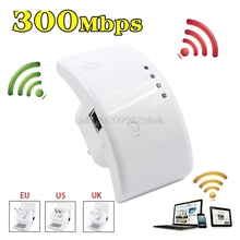 300Mbps Wireless AP Router Wifi Booster Repeater Extender Range 802.11n US/UK/EU Plug #H029#