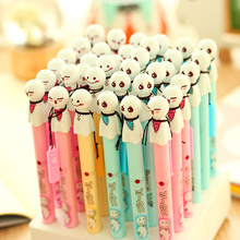 36 pcs/Lot Sunny dolls gel pen 0.38mm ballpoint balck ink pen Teru teru bozu pens gift Stationery Office School supplies DB272(China)