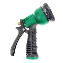 Plastic Copper Water Car Gun Multifunction 7 Pattern Water Nozzle Household Garden Car Wash Water Gun Garden Water Guns