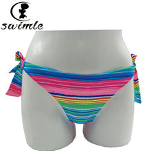 Buy SWIMLE 2017 Brazil sexy thong bikini bottom adjustable women underwear swimsuit underwear thong bikini for $6.07 in AliExpress store