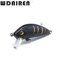 1PCS 5cm 3.6g topwater Swim Fishing Lure Japan Artificial Hard Crank Bait Wobbler Crank bait  Mini Fishing Crankbait lure NE-201