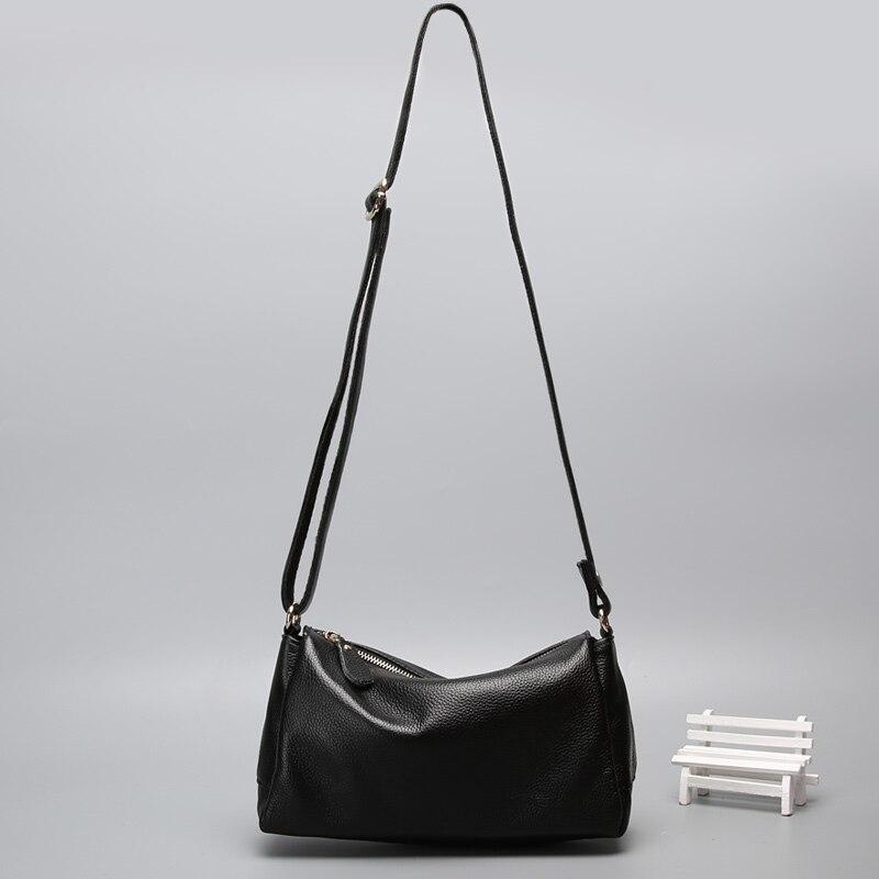 2017 famous brand women bags natural genuine leather women messenger bags fashion casual shoulder bag head layer cowhide handbag<br><br>Aliexpress