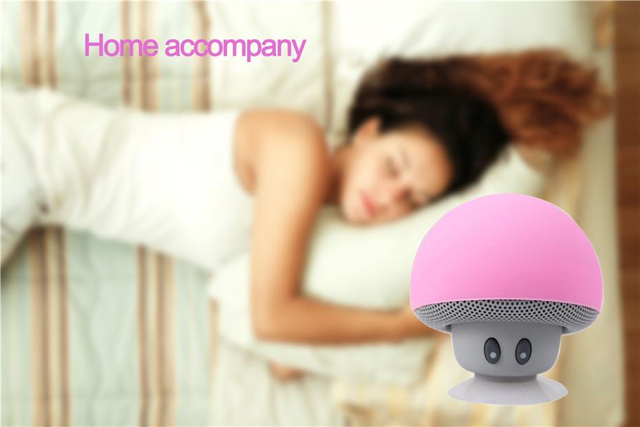 Wireless Mini Bluetooth Speaker Portable Mushroom Waterproof Stereo Bluetooth Speaker for Mobile Phone iPhone Xiaomi Computer PC (1)