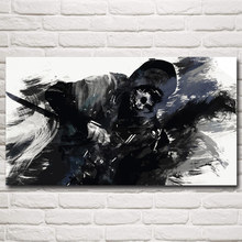Dishonored Corvo Attano Video Game Art Silk Fabric Poster Prints Home Decor Painting 11x20 16x29 20x36 Inches Free Shipping