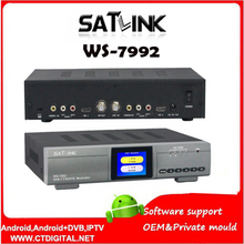 Original Satlink WS-7992 Modulator 7992 SATLINK 2 channel HD DVB-T Modulator RF / AV / HD VS WS-7990(China)