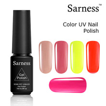 Sarness 29 Solid Colors Gel Varnish LED UV Nail Gel Polish Soak Off Lucky GelLak Lacquer(China)