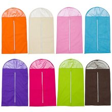 HGHO-New Design Garment Suit Covers Home Dress Clothes Garment Suit Cover Case Dustproof Storage Bags Protector (S)