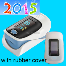10cs with rubber cover Finger pulse oximeter SPO2 PR monitor O LED display waveform 6 Display Modes Ossimetro oxymetre