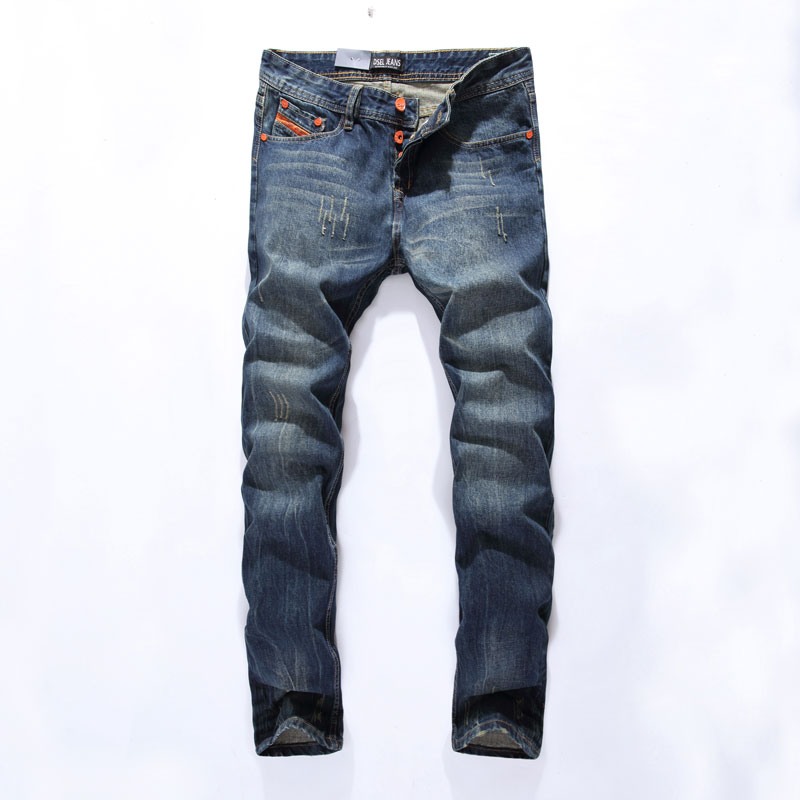 New Arrival Fashion Mens Jeans Straight Fit Leisure Quality Cotton Biker Jeans Denim Trousers CN Brand Ripped Jeans Pants 777-2Îäåæäà è àêñåññóàðû<br><br>