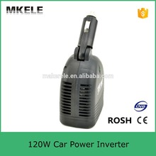 MKC120U-121 professional manufacturer mini size 120w 110vac car power converter 12v power inverter for car battery