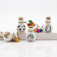 Cute perfume bottle necklace women's ceramic classic neclaces & Pendants DIY handmade necklace for women Gift #DX2526(China)