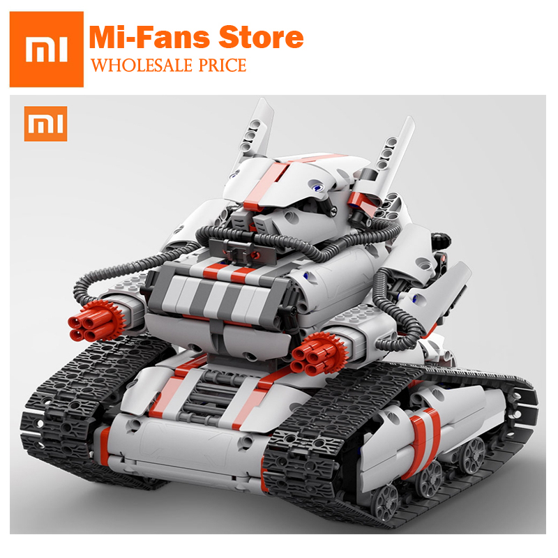 Xiaomi Robot Mitu Building Block Robot Bluetooth Mobile Remote Control 978 Spare Parts Self-balance System Bunny Intelligent Rob