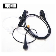 Acoustic Air Tube Earpiece Headset For Icom Radio IC-F30GS IC-F31GS IC-F40GT IC-F41GT