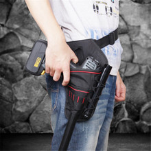 Portable Tool Bag Impact Driver Drill Holster Canvas Tool Bag Electrician Waist Pocket Garden Tool Belt Pouch Bag GI896311