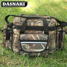 Buy DASNAKI Waterproof Fishing Bag Large Capacity Multifunctional Lure Fishing Tackle Pack Outdoor Shoulder fishing Bags 35*20*28cm for $24.80 in AliExpress store