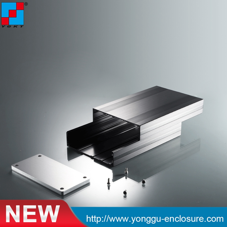 145*68-220mm (WxH-D) customized aluminum shell/electrical aluminum enclosure<br>